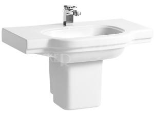 LB3 Classic umyvadlo 85 x 52 cm s otvorem bílé