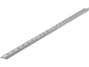 Lišta nerezová pro spádované podlahy APZ901 1000mm pro dlažbu 10mm levá