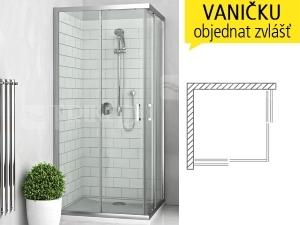 LLS2 sprchový kout s posuvnými dveřmi