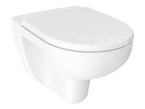 Lyra plus klozet závěsný 53 cm RIMLESS, bílý