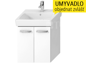 Lyra plus VIVA skříňka sdvířky pod umyvadlo 55 x 45 cm, bílá