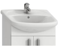 Lyra umyvadlo nábytkové 53 x 42 cm s otvorem, bílé, H8143610001041, Jika