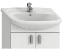 Lyra umyvadlo nábytkové 65 x 48 cm s otvorem, bílé, H8143640001041, Jika