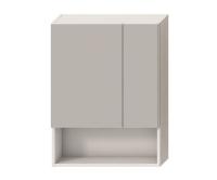 Lyra zrcadlová skříňka 80 x 60cm bílá, H4532410383041, Jika