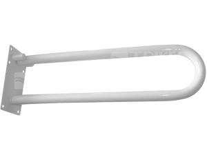 Madlo č.12c sklopné 834mm bílé