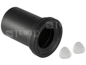 Manžeta připojovací s krycími víčky pro WC 110 x 18cm