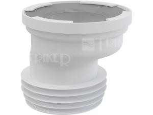 Manžeta WC s excentrem 20 mm A991-20