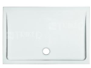 Merano vanička keramická 110 x 75 x 6,5 cm bílá
