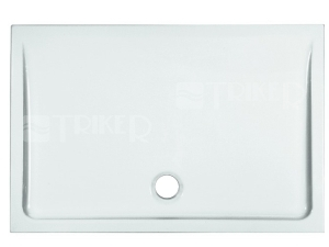 Merano vanička keramická 120 x 80 x 6,5 cm bílá