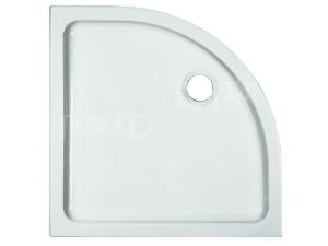 Merano vanička keramická 80 x 80 x 6,5 cm R550 bílá