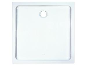 Merano vanička keramická 90 x 90 x 6,5 cm bílá