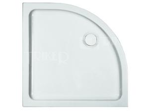 Merano vanička keramická 90 x 90 x 6,5 cm R550 bílá