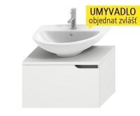 Mio skříňka pod umyvadlo 50 - 65 cm bílá/bílá, H4341111715001, Jika