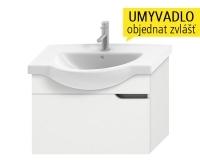 Mio new skříňka pod umyvadlo 75 cm bílá/ořech, H4341311715061, Jika