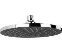 Mio sprcha hlavová 200mm s 1 funkcí chrom/šedivý plast, H3677100040411, Jika