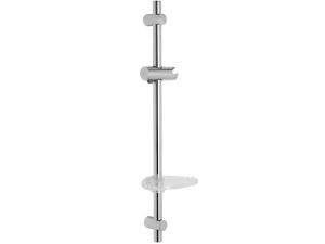 Mio tyč sprchová chrom, 60 cm, s mýdelníkem
