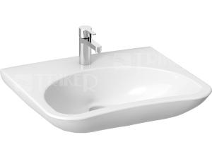 Mio umyvadlo zdravotní 64 x 55 cm s otvorem, bílé