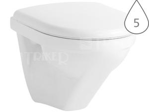 Moderna plus klozet závěsný 49 cm Compact hluboké splachování bílý