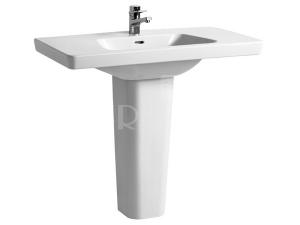 Moderna plus umyvadlo 100 x 48,5cm s otvorem bílé