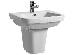 Moderna plus umyvadlo 55 x 46cm s otvorem bílé