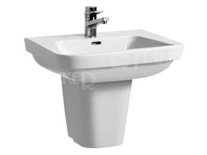Moderna plus umyvadlo 60 x 48cm s otvorem bílé
