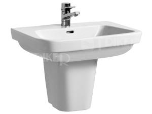 Moderna plus umyvadlo 65 x 48 cm s otvorem bílé
