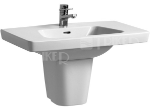 Moderna plus umyvadlo 80 x 48,5cm s otvorem bílé