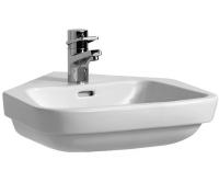 Moderna plus umyvadlo rohové 50 x 53 cm s otvorem bílé, H8165410001041, Laufen