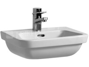 Moderna Plus umývátko 36 x 45 cm s otvorem bílé