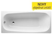 Moderna plus vana ocelová 170 x 75 cm s izolací bílá, H2251300000401, Laufen