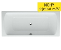 Moderna Plus vana ocelová 170 x 75cm s izolací bílá, H2250700000401, Laufen
