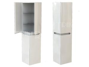 Modo skříňka vysoká 35 x 150 x 35 cm, lesklá bílá
