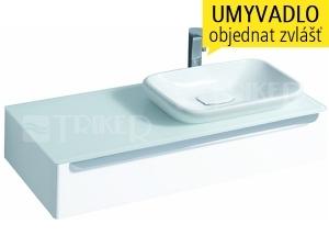myDay skříňka s 1 zásuvkou pod umyvadlo na desku 60 cm pravá