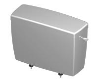 Nádrž splachovací T-2450 pro kombinační mísy, bílá, 620610, Slovplast Myjava (SAM Holding)