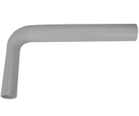 ND Nádrž AlcaPlast A-93 koleno 50 x 40 mm, Z014, Alca plast
