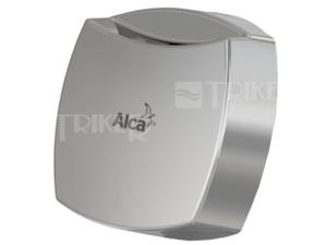 ND sifon vanový Alca plast ovládací kolečko chrom, 75 x 75 mm