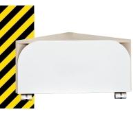 Nestandard Deep kontejner rohový pojízdný bříza, H4540524348021, Jika