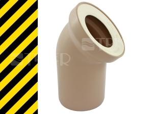 Nestandard koleno připojovací 45 110mm, bahama
