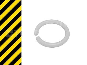 Nestandard ND ramínko Raf kroužek bílý 19 x 2,5 mm