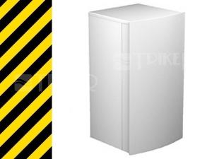 Nestandard STYLE skříňka nízká 88197 bílá/bílá