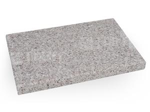NORMAN - základová deska obdelníková, bílá vymývaná, 84 x 55 cm