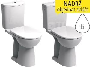 Nova Pro Bez Bariér klozet kombinační 46cm