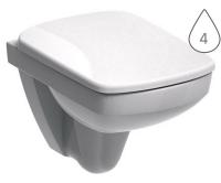Nova Pro klozet závěsný 48 cm pravoúhlý bílý, M33104000, Kolo
