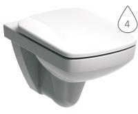 Nova Pro klozet závěsný 53 cm pravoúhlý bílý, M33103000, Kolo