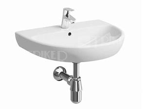 Nova Pro umyvadlo oválné 65 x 50 cm s otvorem bílé
