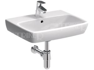 Nova Pro umyvadlo pravoúhlé 50 x 42 cm s otvorem bílé