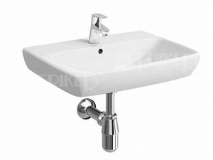 Nova Pro umyvadlo pravoúhlé 65 x 48 cm s otvorem bílé