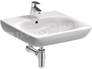 Nova Pro umyvadlo pro tělesně postižené 65 x 55 cm s otvorem s přepadem bílé