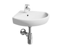 Nova Pro umyvadlo rohové 50 cm s otvorem bílé, M31750, Kolo