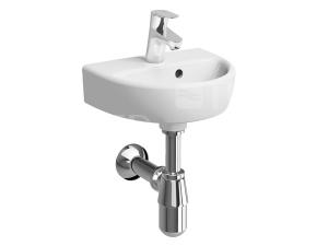 Nova Pro umývátko oválné 36 x 29 cm s otvorem bílé